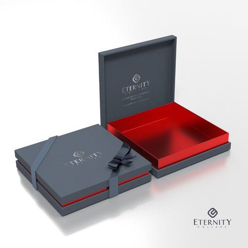Luxury packaging with the title 'A Minimalist, Luxurious, High-End Packing'