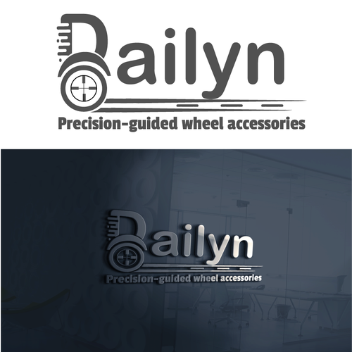 Precision logo with the title 'Design a logo that represents ''Modern and Precision'''