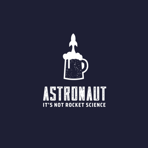 Rocket logo with the title 'Have a Space Beer!'