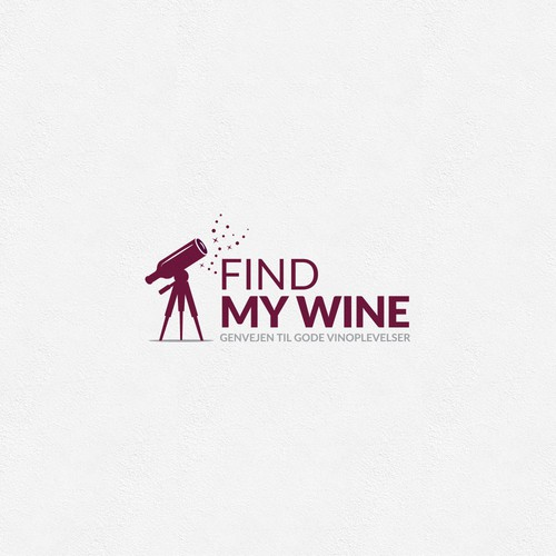 Bottle logo with the title 'Searching for wine...'