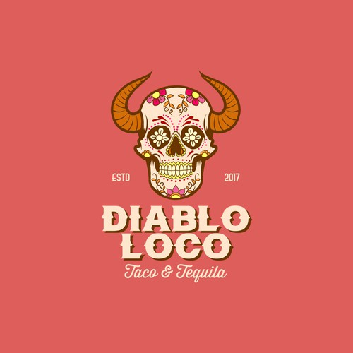 Tequila logo with the title 'Taco Tequila Bar '