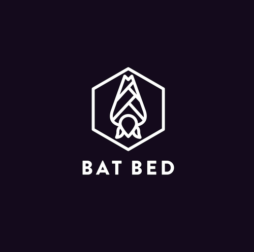 Bat design with the title 'Bat Bed'