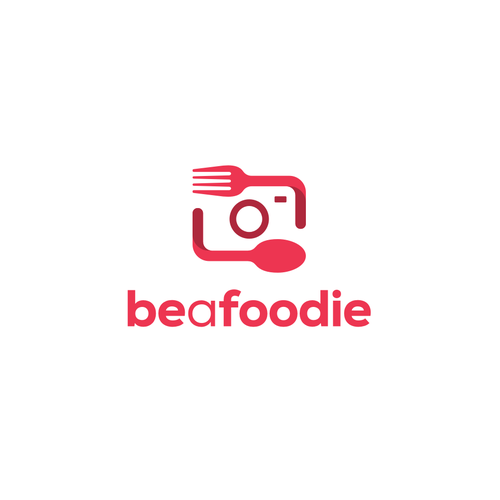 Sharing design with the title 'BeAFoodie'