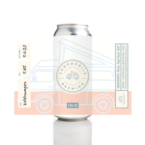 Vector packaging with the title 'Vintage Themed Craft Beer Label'