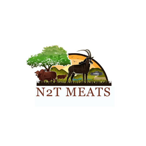 Cow brand with the title 'N2T Meats'