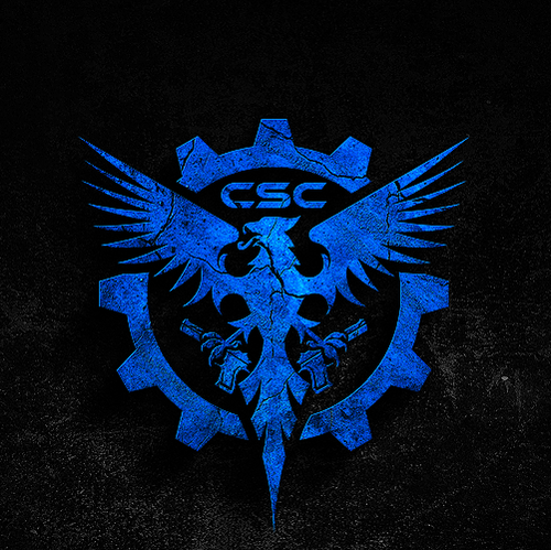 Eagle logo with the title 'Logo design for Common Sense Carry'