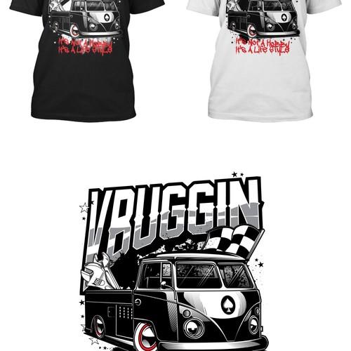 VW design with the title 'VW Dubb'