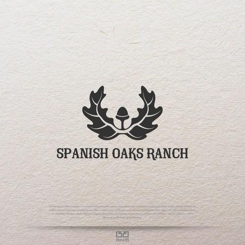 Oak design with the title 'Ranch logo design.'
