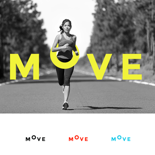 Gym design with the title 'Move'