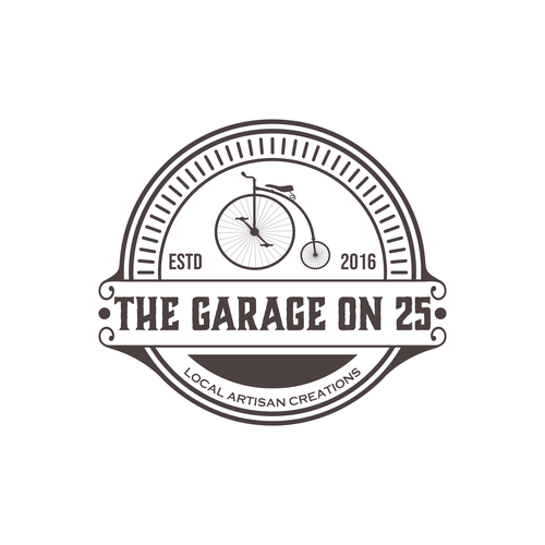 Garage brand with the title 'garage on 25'