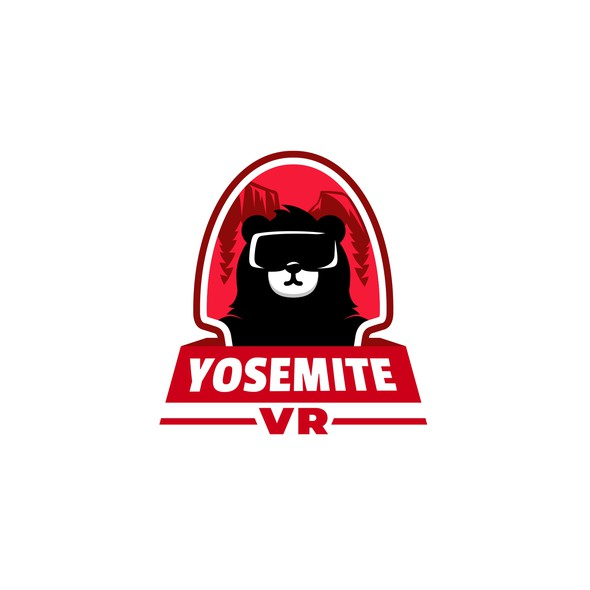 VR logo with the title 'Yosemite VR'