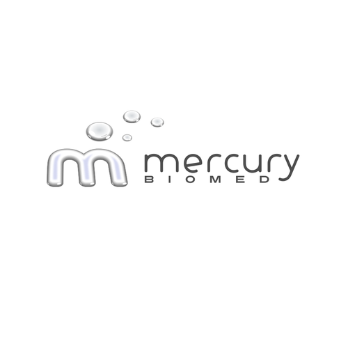 Chemical logo with the title 'Mercury'