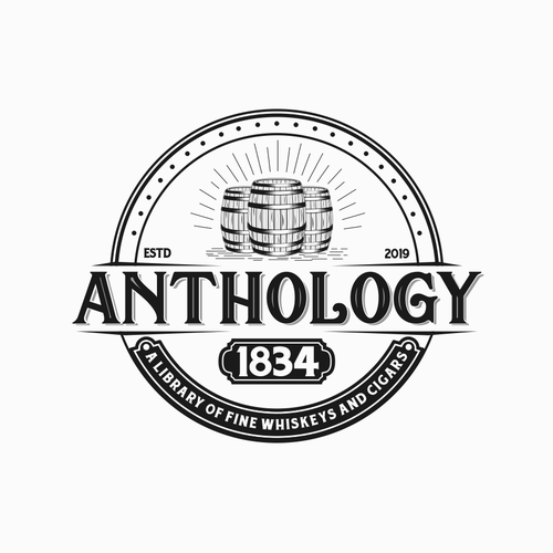 Kentucky logo with the title 'Anthology 1834'