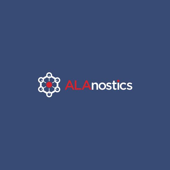 Medical design with the title 'ALAnostics'