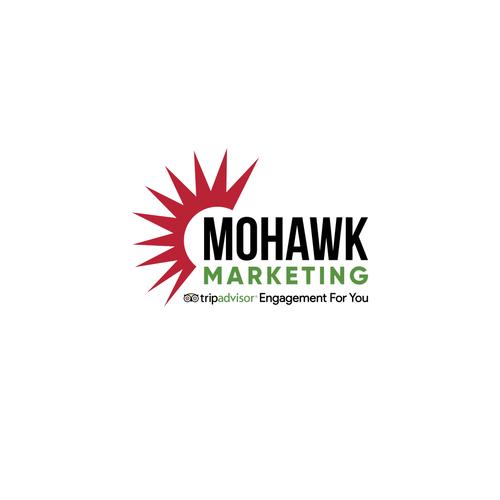 Mohawk logo with the title 'Mohawk Marketing Logo'