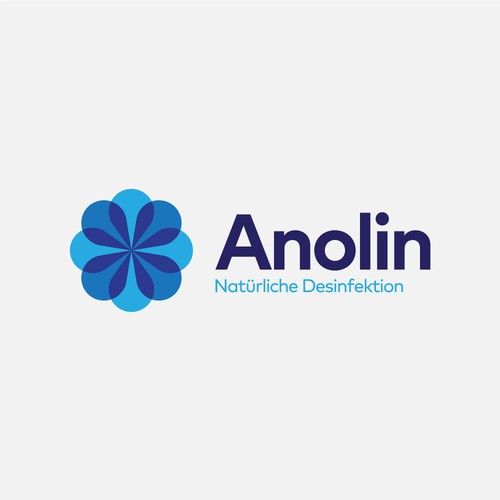 Overlay logo with the title 'Anolin Logo'