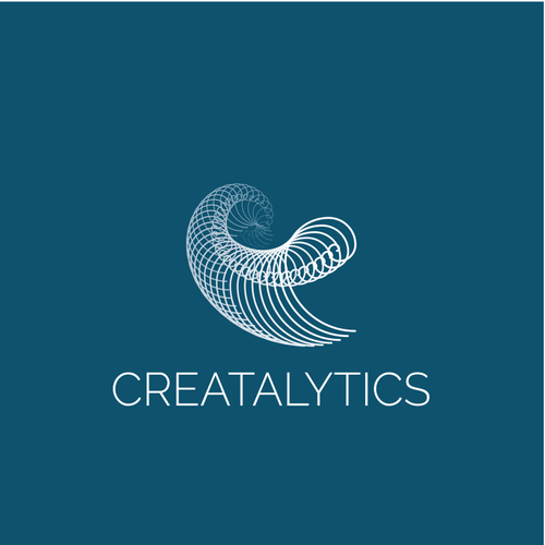 Golden ratio design with the title 'Creatalytics - Logo for a digital marketing strategy and technology implementation company'