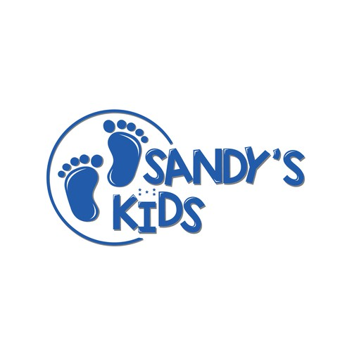 Humanity logo with the title 'SANDYS KIDS'