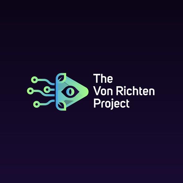 Squid design with the title 'The Von Richten Project'