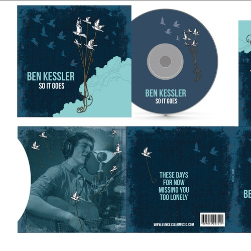 Bird artwork with the title 'Ben Kessler Needs a New Album Cover!'