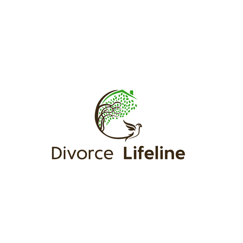 Divorce logo with the title 'Divorce Lifeline'