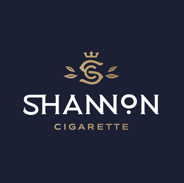 Mature design with the title 'Sophisticated Logo Needed for Tobacco-Free Cigarette Brand'