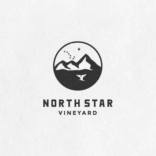 North Star logo with the title 'North Star Vineyard'