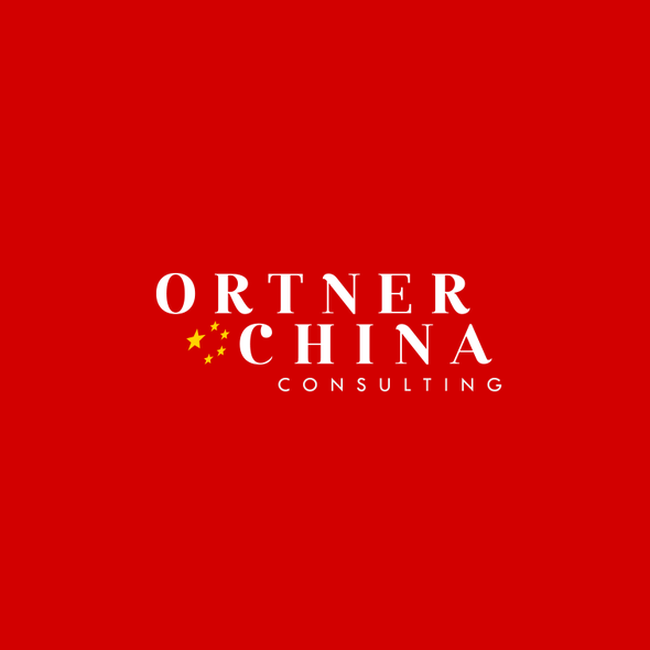 Chinese logo with the title 'Logo for Ortner China Consulting'