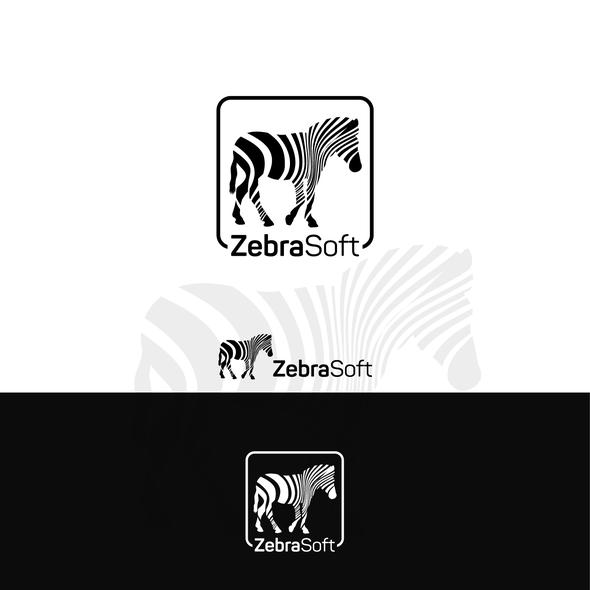 Stripe design with the title 'Zebra soft'