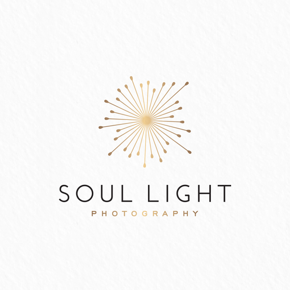 Picture logo with the title 'Soul light logo'