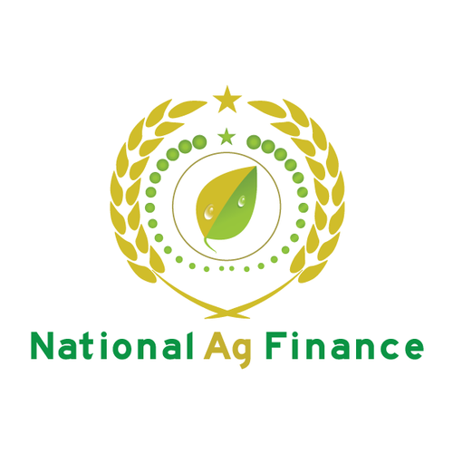 National design with the title 'Farm & Agriculture Financing logo'