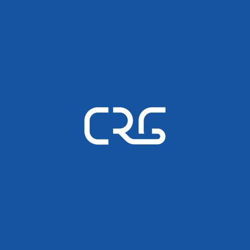 Initial logo with the title 'initials logo CRG'