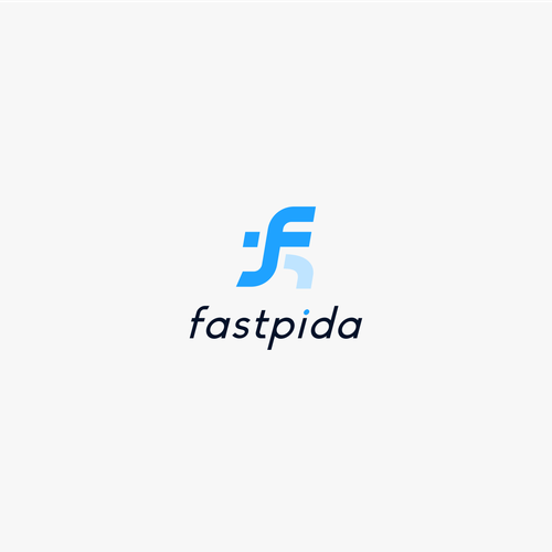 F design with the title 'fastpida'