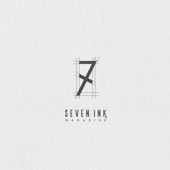 Seven design with the title '7ink Magazine'