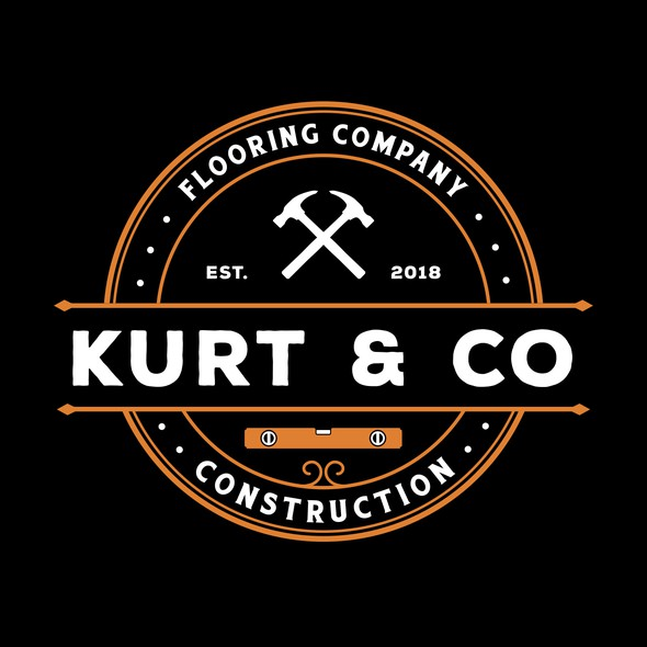 Level logo with the title 'Kurt & Co Construction'