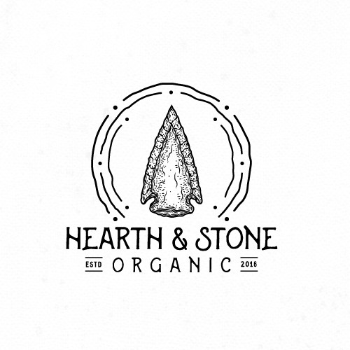 Granite logo with the title 'Logo for Bone Broth Bar'