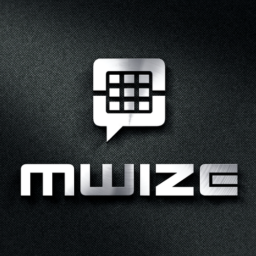 Droid logo with the title 'mWize'