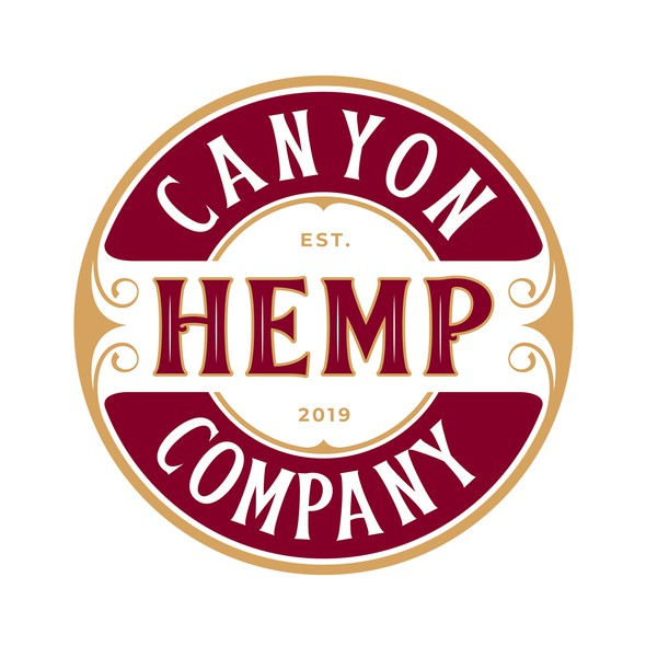Canyon logo with the title 'Canyon Hemp Company'