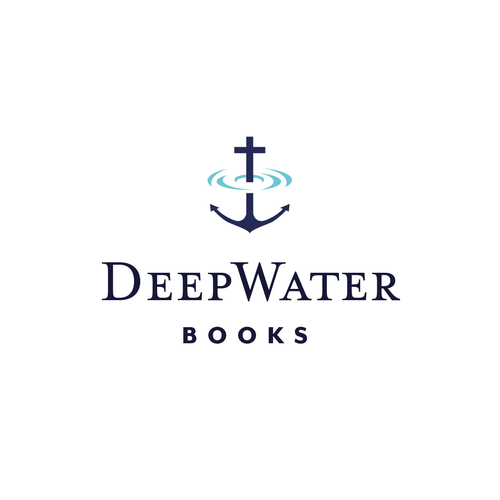 Flood logo with the title 'Deep Water Books'
