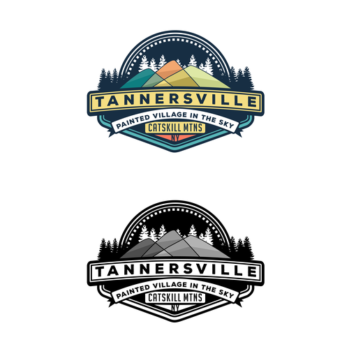 Resort logo with the title 'Logo for Tnnersville Village'