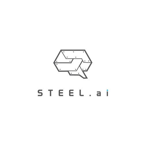 Intelligence logo with the title 'steel.ai- the artificial intelligence steel procurement solution'