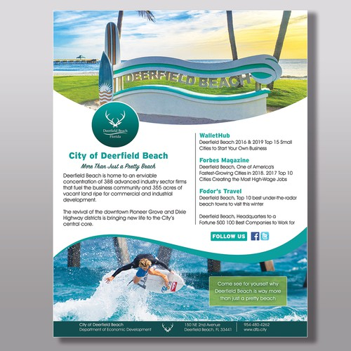 Print ad design with the title 'Concept Ad for Magazine'