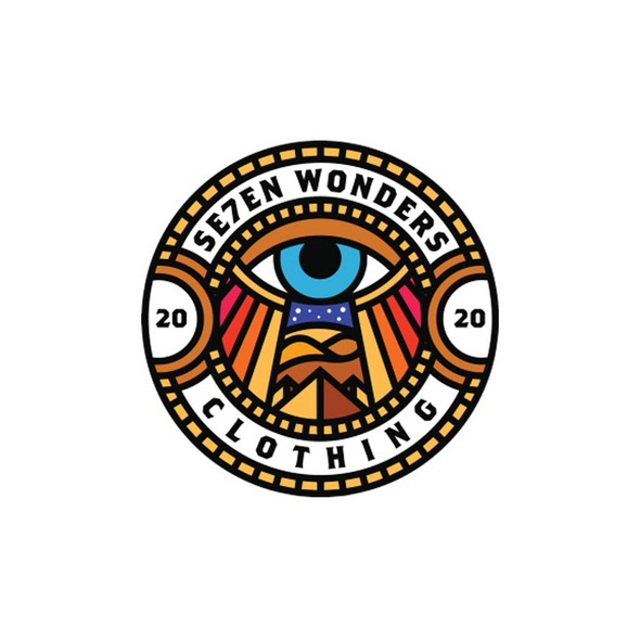 Wonder logo with the title 'Se7en Wonders Clothing '
