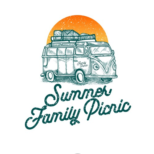Picnic logo with the title 'Vintage Picnic'
