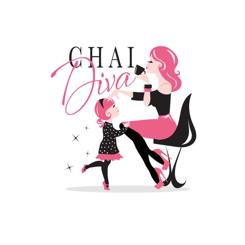 Mom logo with the title 'CHAI DIVA'