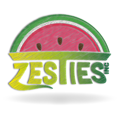 Citrus logo with the title 'Logo For Zesties 3'
