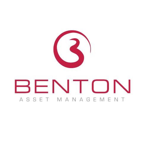 B design with the title 'Help Benton (Benton Asset Management) refresh logo and business card'