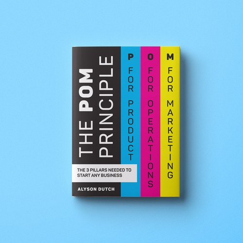 Bold book cover with the title 'The POM Principle'