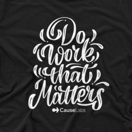 calligraphy alphabets inspirational white tee. Be kind to one another T-shirt