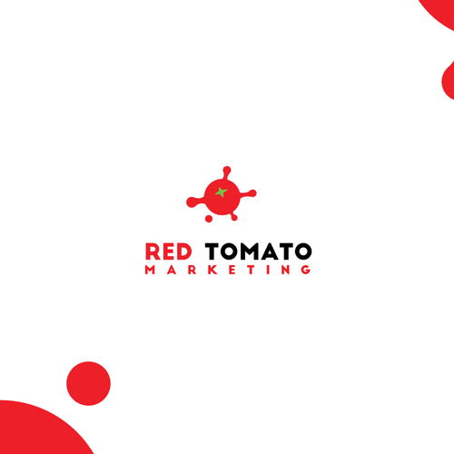 Tomato design with the title 'red tomato'